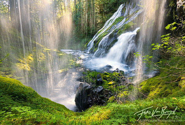 Waterfall by Floris Van Breugel