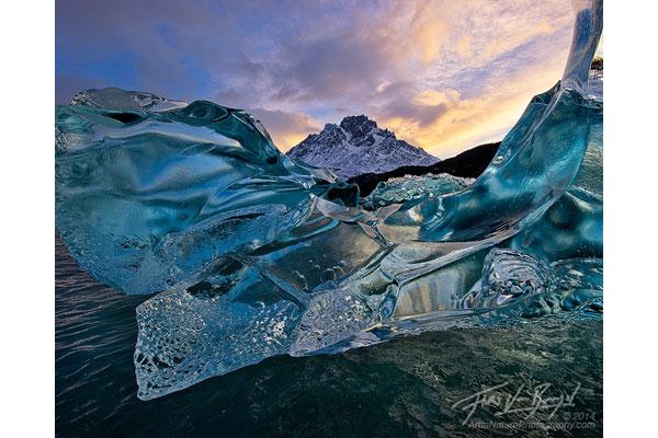 Patagonia iceberg image by Floris Van Breugel